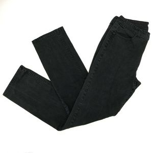 Chico's Platinum Straight Jeans Sz 1.5/M/10 Tall